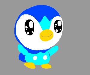Cute penguin pokemon