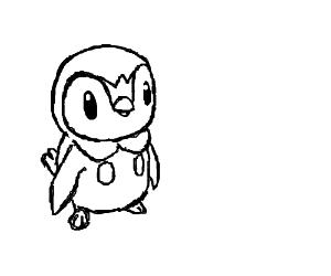 Penguin looking Pokemon
