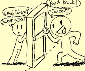 Sweet knock knock joke