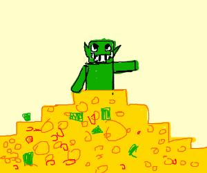 rich minecraft troll