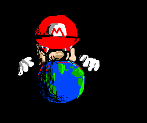 Mario, the destroyer