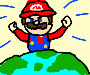mario rules the world