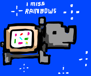 Hippo unicorns truly fart rainbow explosions - Drawception