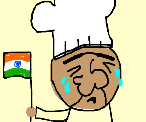 Crying Indian Cheif with big nose