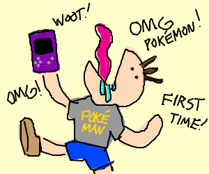 Your first experience with Pokemon