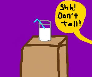 secret milk