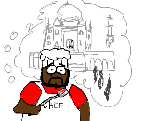 Chef (South Park) misses India