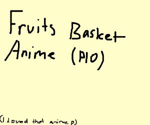 Fruits Basket Anime (PIO)