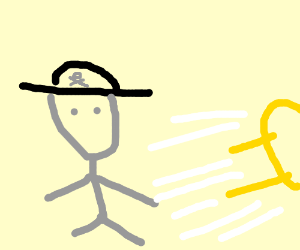 Captain Sketch Destroys Yellmo