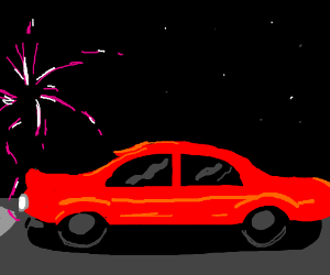 If oil was replaced with fireworks...