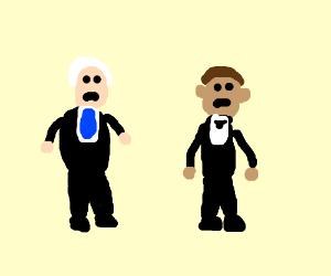 Mike Pence and Obama are sad