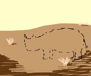 See-through rhinoceroses