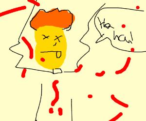 Donald Glover kills Donald Trump