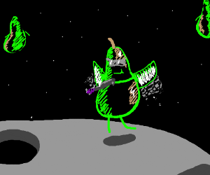 Pears in Space