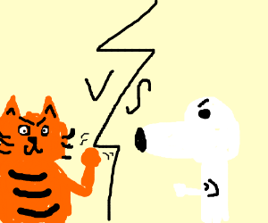 Garfield vs. Snoopy