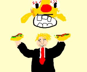 donald trump as a mexican
