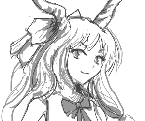 Suika Ibuki from Touhou