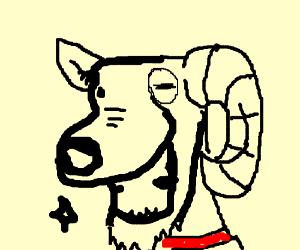 dog-goat hybrid