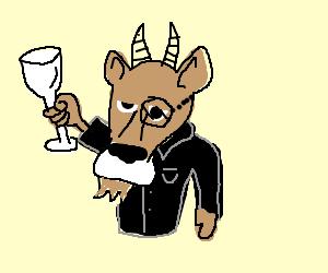 Classy goat
