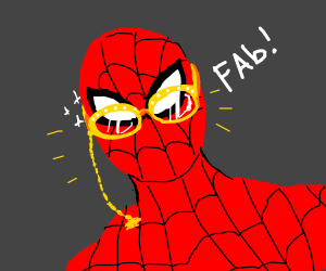 Your glasses are fancy, Spiderman. ;)