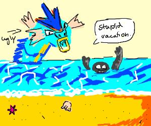 Geodude on vacation