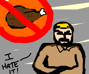 Man Hates Thanksgiving
