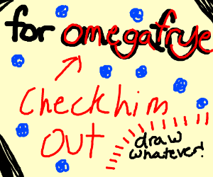 This is for your cover OmegaFyre