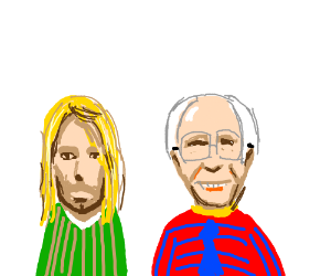 Kurt Cobain and Bernie Sanders