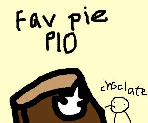 Favourite Pie PIO (Pumpkin Pie) Mmm...