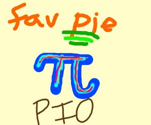 Favorite pie PIO