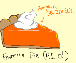 What's Your Favorite Pie? PIO