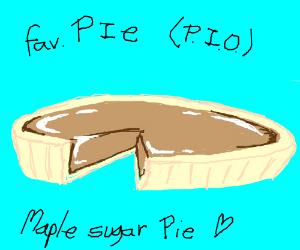 Favourite pie PIO (Mine is magpie)
