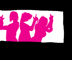 Charlie's Angels silhouettes