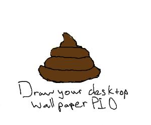 Draw your desktop wallpaper! (PIO)