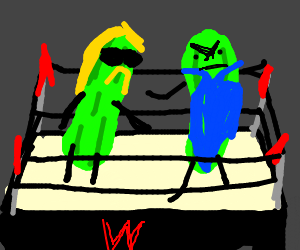 WWE but pickles