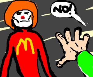 say no to ronald mcdonald