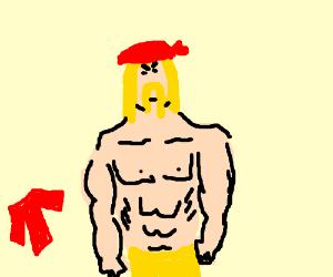 shirtless hulk hogan