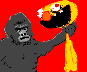 Harambe vs Yellmo