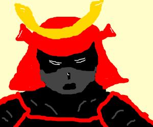 Black-face Samurai