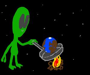 alien cukcs the world