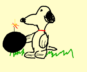 Honey, I blew up the Snoopy.