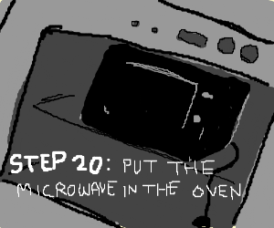 Step 19: Put The Jar in a Microwave