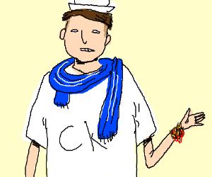 Fashionable sailor