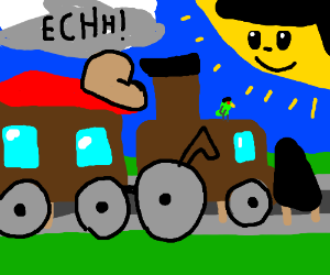 All aboard the ECH train!