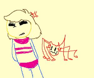Frisk Finds A Spindly Demon Annoying