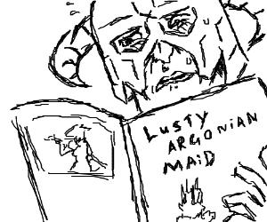 Lusty Argonian Maid