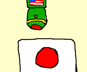 ringing the doorbell to japan