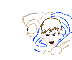 Highly detailed Garen (from LoL)