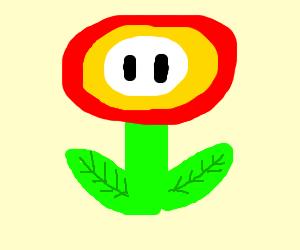 Mario flower powerup (the flower itself)