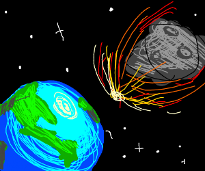 comet or asteroid approaching earth - photo #32